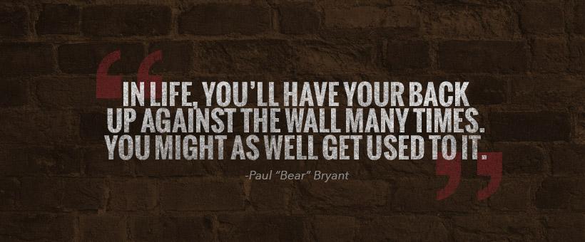 Paul Bear Bryant Quotes. QuotesGram
