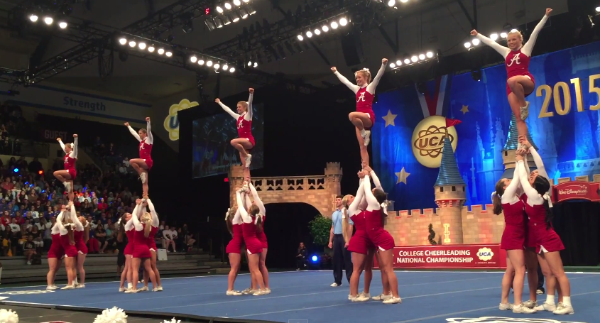You will Cheerleader competition videos all can