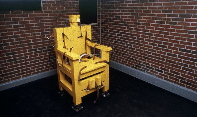 Alabama House Votes To Bring Yellow Mama Electric Chair