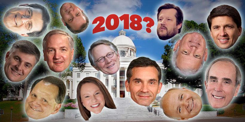 Potential 2018 Alabama gubernatorial candidates