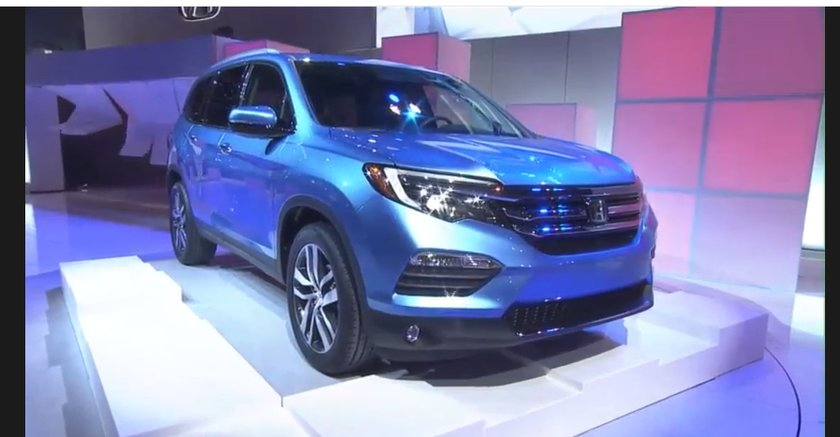 The Brand New Alabama Built Honda Pilot At Chicago Auto Show