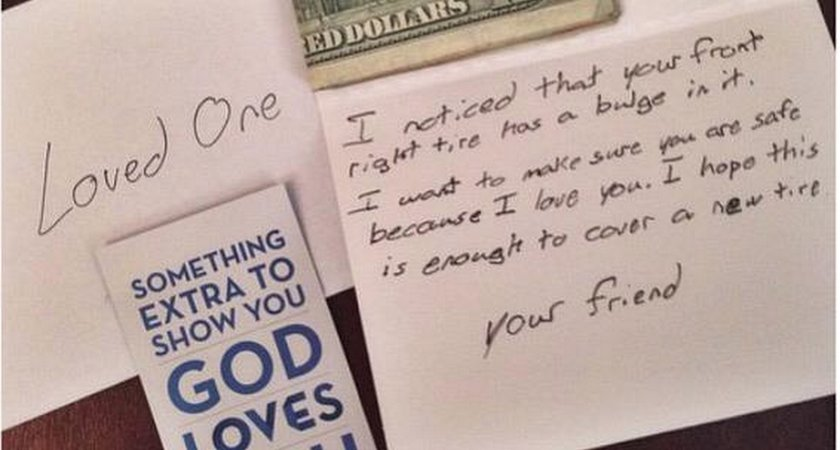 Woman Brought To Tears By Unexpected Gift At Alabama Church