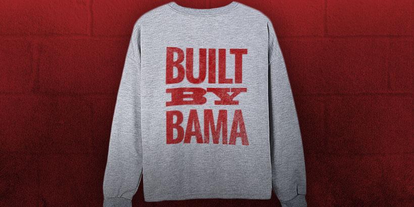Built by Bama sweatshirt