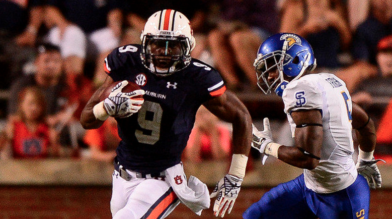 Roc Thomas could be Auburn's starting running back in 2015. (Photo via Auburn Athletics)