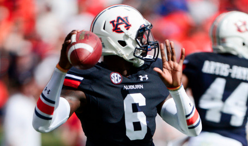 Jeremy Johnson will be Auburn's starting QB in 2015. (Photo via Auburn Athletics)