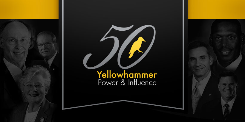 Yellowhammer's Power & Influence 50