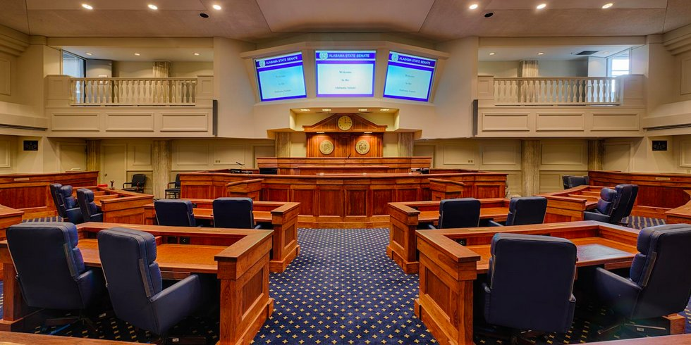 Alabama Senate Chamber (File photo)