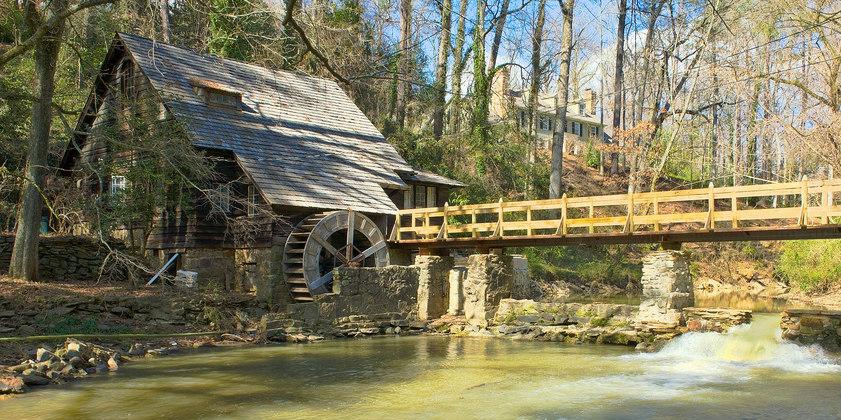 "The ""Old Mill"" on Shades Creek, Mountain Brook, AL (Photo: Wikipedia)"