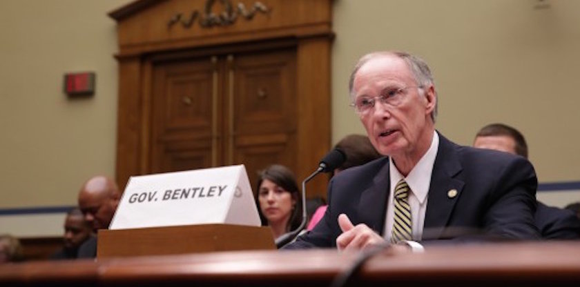 Gov. Robert Bentley testifies before the House Oversight and Government Reform Committee to highlight Alabama's prison reform efforts. (Photo: Bentley Admin.)