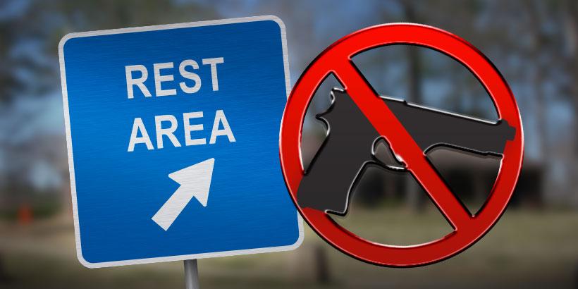 Rest Stop Gun Ban