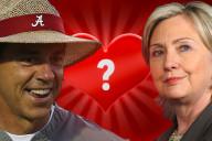 Nick Saban Hillary Clinton