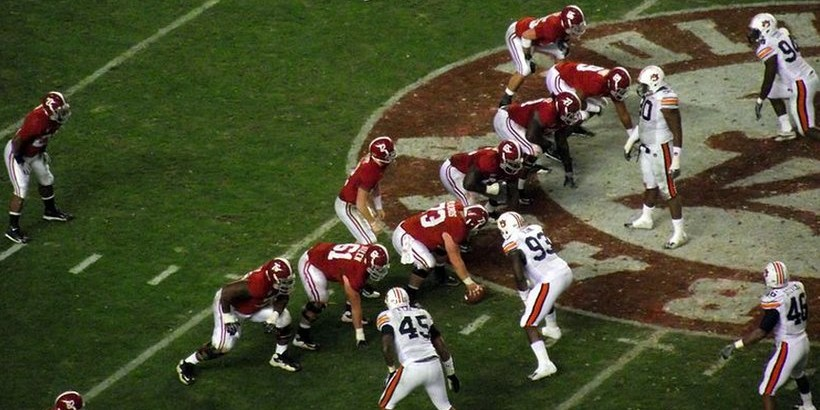 2010 Iron Bowl in Bryant-Denny Stadium