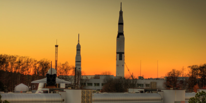 U.S Space and Rocket Center in Huntsville, AL (Photo: Flikr user Bryce Edwards)