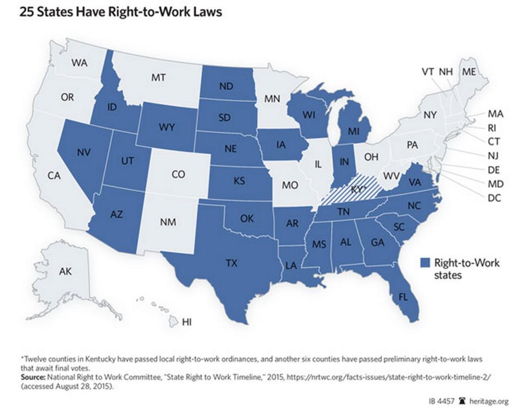 RTW laws