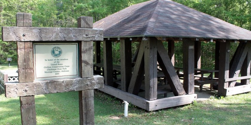 Chickasaw Park, one of the five Alabama parks closing. (Alapark.com)