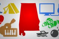 Alabama military graphics
