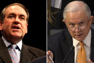 Mike Huckabee Jeff Sessions
