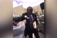 Newsome punches journalist