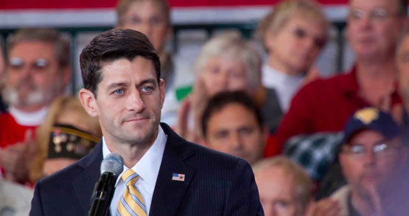 Congressman Paul Ryan (R-WI) speaks at a Romney-Ryan campaign event in Toledo, Ohio (Photo: Starley Shelton)