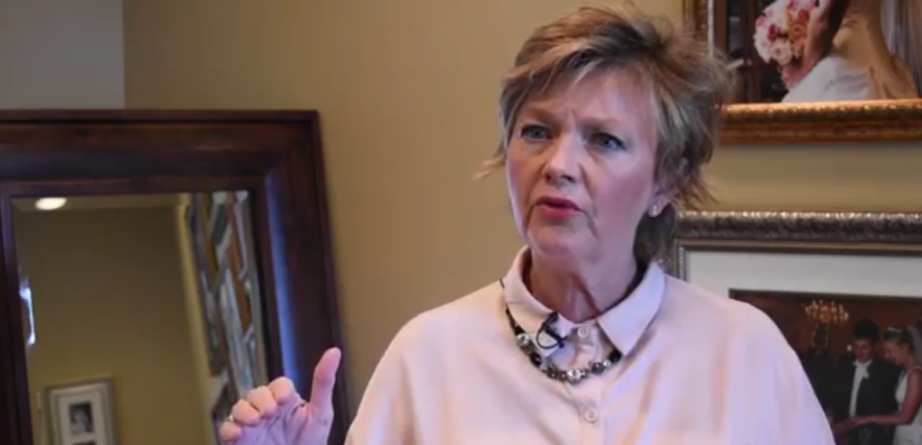 Terry Shea, co-owner and vice president of Wrapsody (Photo: Screenshot of Alabama Retail Association Video)