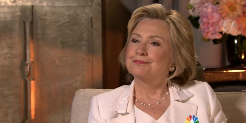 Former Secretary of State Hillary Clinton (Video screenshot)