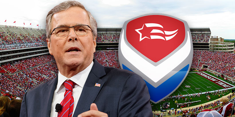 Former Florida Governor and presidential candidate Jeb Bush