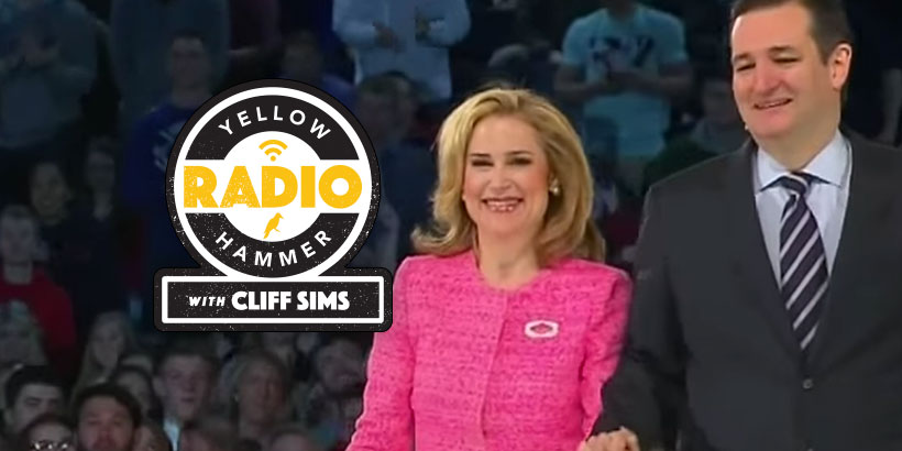 Heidi Cruz to Alabama: 'Ted and I will be spending a lot of time with y'all' (Audio)
