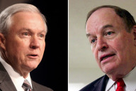 Senators Jeff Sessions (Left) and Richard Shelby (Right)