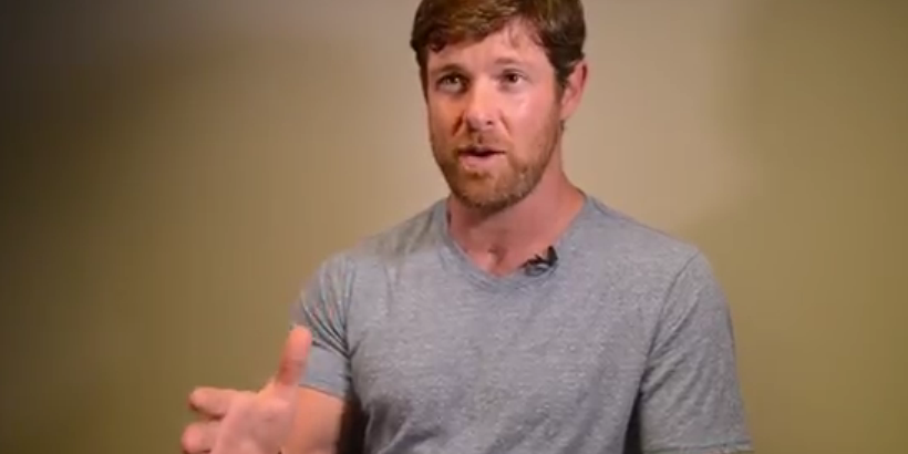 Noah Galloway talking about overcoming struggles