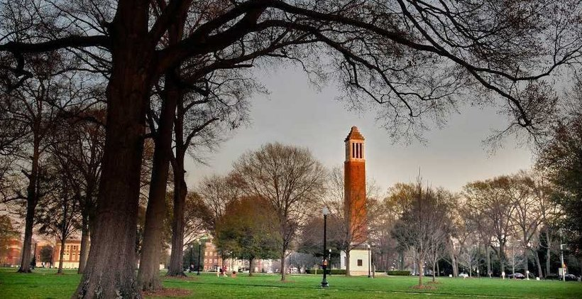 University of Alabama quad (Photo: University of Alabama)