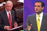 Sen. Jeff Sessions (R-Ala.) and Sen. Ted Cruz (R-Tx.)
