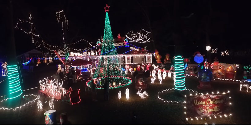 Drone video captures spectacular Montgomery Christmas lights display from  the sky - Yellowhammer News   Yellowhammer News - Drone Video Captures Spectacular Montgomery Christmas Lights Display