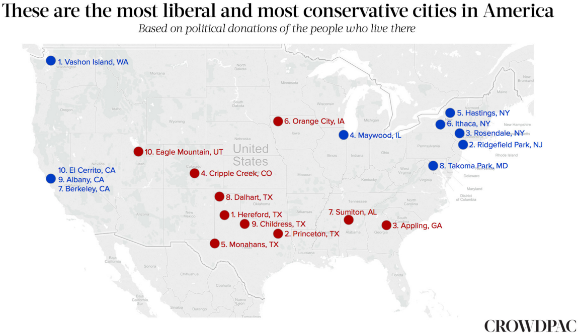 A study says this is Alabamas most conservative town find out