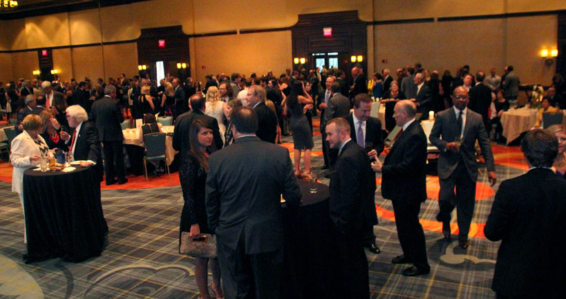 The crowd mingles at the 2015 Yellowhammer Power of Service event (Photo: Grady Thornton)