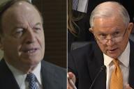 Senators Richard Shelby (left) and Jeff Sessions (right)