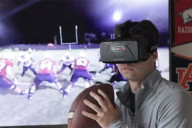The virtual reality training program called STRIVR – Sports Training in Virtual Reality – could be a game changer.