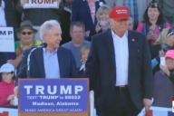 Jeff Sessions officially endorses Donald J. Trump for Presidenti in Madison, Alabama (Photo: Screenshot)