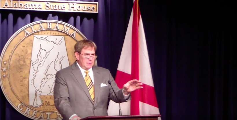 House Minority Leader Craig Ford (D-Gadsden) speaks at the Alabama State House (Photo: Screenshot)