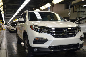Honda's new Alabama-built Pilot SUV is gaining traction in Middle Eastern markets.