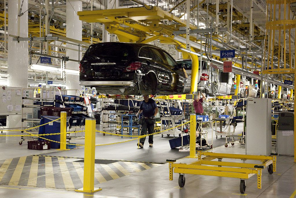 The Mercedes Benz Embly Plant In Tuscaloosa County Has Long Been An Export Center