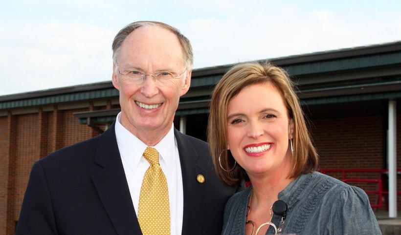 Governor Robert Bentley and senior advisor Rebekah Mason. (Photo: Facebook)