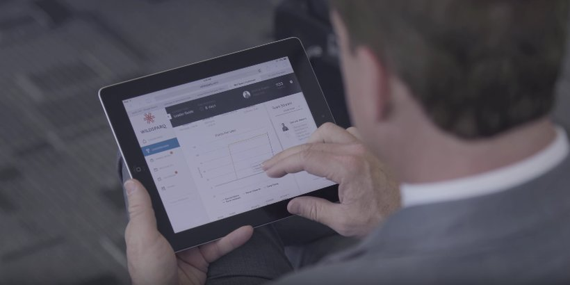 The WildSparq platform displayed on a tablet. (Photo: Screenshot)