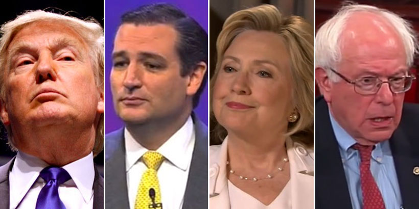 The Biggest Celebrity Endorsements For 2016 Presidential ...