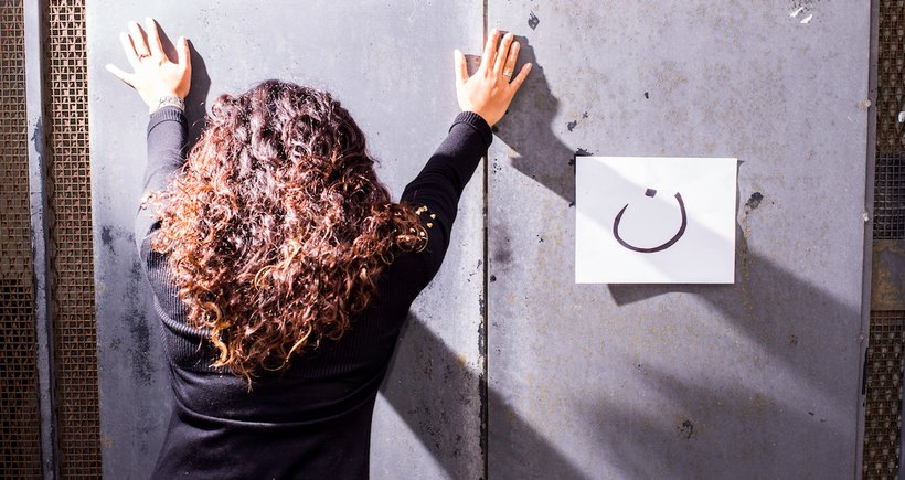 """Islamists in the Middle East tag the homes of Christians with the Arabic letter ن, which sounds like """"noon,"""" and is the first letter of the word """"Nasrani"""" in Arabic, which means one who believes in Jesus of Nazareth. (Photo: Michael Swan)"""