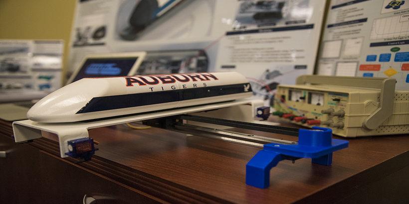 Auburn University's Hyperloop concept (Photo: Auburn)