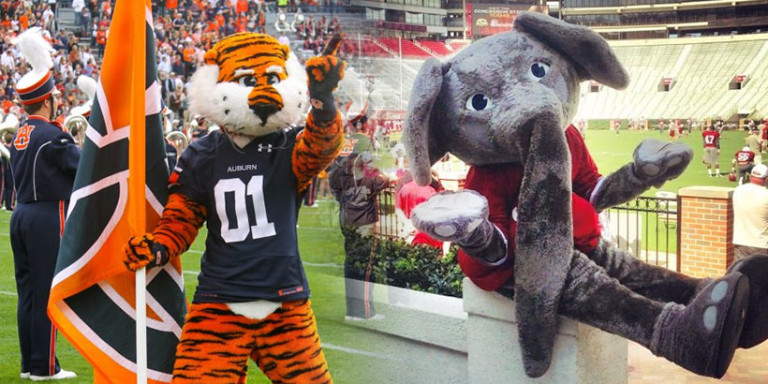 Alabama and Auburn are two of the richest football programs in the SEC