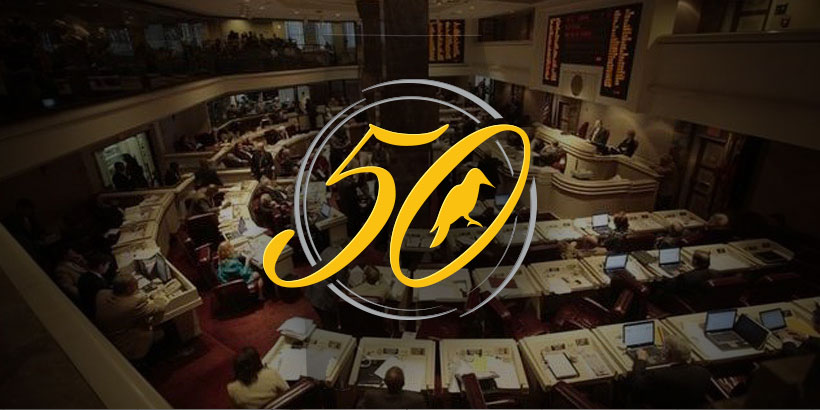 Yellowhammer's Power & Influence 50 is an annual list of the most powerful * influential people in Alabama politics and business.