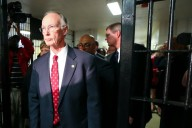 Alabama Gov. Robert Bentley Robert Bentley leads a tour of Tutwiler Prison for Women in Wetumpka, Thursday March 31, 2016. (Photo: Governor's Office, Jamie Martin)