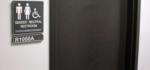 Gender neutral bathroom (Photo: Jeffrey Beall)