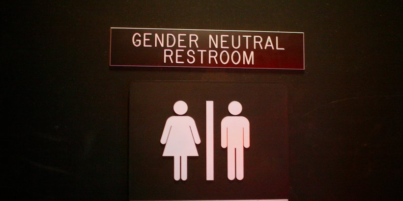 Gender neutral bathrooms have become a controversial topic nationwide (Photo: Scott Beale / Laughing Squid)